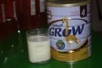 Sữa Abbott bị vón cục, không tan