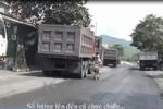 Xe quá tải cày nát đường Quảng Ninh, chính quyền làm ngơ, người dân cùng cực