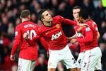 """Man Utd 3-1 Sunderland: Rooney, Cleverley & Van Persie làm thịt """"Mèo"""""""