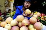 Táo, lê Trung Quốc giá 4.000 đồng/kg tràn vào Việt Nam