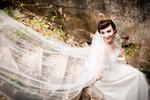 Lộ ảnh cưới tuyệt đẹp của Hoa hậu Ngọc Diễm