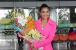 Trương Thị May về nước sau khi 'thua trên thế thắng' ở Hoa hậu Hoàn vũ