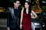 Hoa hậu Thu Hoài và MC Thanh Bạch quấn quýt như đôi sam