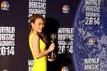 Mỹ Tâm đoạt giải thưởng âm nhạc thế giới 2014