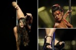 Lạ hơn cả hoa hậu vòng 3: Hoa hậu múa cột!