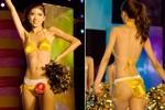 Sự cố tụt bikini hi hữu của thí sinh hoa hậu Trung Quốc