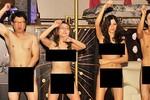 Mẫu nữ xứ Hàn nude 100% nhảy múa mừng bầu cử