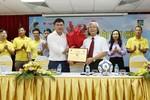 Công bố nhà tài trợ và giới thiệu VCK giải U17 Báo Bóng Đá cúp Thái Sơn Nam