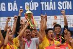 Báo Bóng đá lần cuối tổ chức giải U17- Cúp Thái Sơn Nam 2015