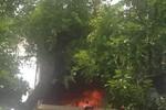 Hà Nội: Cháy lớn tại khách sạn chuyên cho người nước ngoài thuê