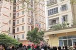 Náo loạn vì chung cư 11 tầng ở Hà Nội bốc cháy