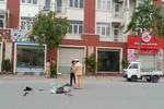 Phóng nhanh, tài xế taxi Hà Đông đâm chết cụ ông 70 tuổi