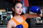 Top 10 siêu mẫu châu Á Hà Phương hóa thành cô nàng boxing gợi cảm