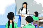 Đừng nói thầy cô biết lương thấp vẫn lao vào mà phải tội!
