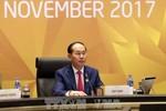 Chủ tịch nước Trần Đại Quang gặp gỡ lãnh đạo các nước Lào, Campuchia và Hàn Quốc
