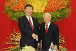 Lãnh đạo Đảng và Quốc hội Việt Nam tiếp đón Chủ tịch Trung Quốc Tập Cận Bình
