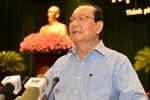 Ông Lê Thanh Hải chỉ rõ những yếu kém trong quy hoạch của TP HCM