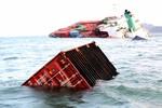 Vụ đâm tàu ở Vũng Tàu: Gần 700 container hàng đang chìm dần xuống biển