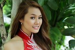 Vẻ đẹp yêu kiều của Á khôi Miss Ngôi sao 2012