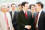 Chủ tịch nước Trương Tấn Sang dự lễ kỷ niệm ngày Nhà giáo Việt Nam