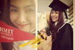 Tăng Thanh Hà vừa tốt nghiệp đại học RMIT