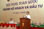 Thủ tướng Nguyễn Tấn Dũng: Chấm dứt dàn trải, xin cho vốn đầu tư công