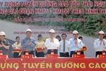 Thủ tướng phát lệnh khởi công cao tốc Thái Nguyên - Bắc Kạn