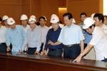 Thủ tướng kiểm tra công trình Nhà Quốc hội