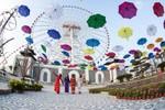 Tưng bừng lễ hội hoa xuân công viên Châu Á