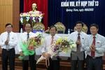 Ông Đinh Văn Thu giữ chức Chủ tịch UBND tỉnh Quảng Nam