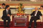 Tổng Bí thư tiếp xúc lãnh đạo tỉnh Vân Nam - Trung Quốc