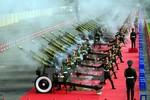 Hùng tráng  lễ diễu binh trên đường phố Hà Nội