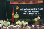 Phê chuẩn nhân sự UBND tỉnh Thái Nguyên