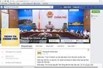 Chính phủ thử nghiệm cung cấp thông tin qua Facebook và Youtube