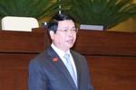 """4 vấn đề Đại biểu Quốc hội """"truy"""" Bộ trưởng Vũ Huy Hoàng"""