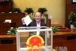 Ông Nguyễn Sinh Hùng chính thức giữ chức Chủ tịch Hội đồng bầu cử Quốc gia