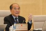 """Chủ tịch Nguyễn Sinh Hùng: """"Đại biểu Quốc hội cũng sợ dân ra phết đấy chứ"""""""