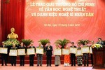 """Lập Hội đồng cấp Nhà nước xét tặng """"Giải thưởng Hồ Chí Minh"""" 2016"""