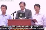 Video Formosa Hà Tĩnh xin lỗi Nhà nước nhân dân Việt Nam