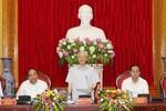 Tổng Bí thư Nguyễn Phú Trọng tham gia Đảng ủy Công an Trung ương