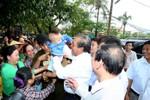Thăm xã biển Cảnh Dương, Phó Thủ tướng nói sẽ khởi tố nếu Formosa tái phạm