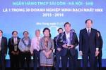 SHB 4 năm liên tiếp được vinh danh Top 30 doanh nghiệp minh bạch nhất HNX