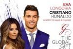 Nữ doanh nhân Coco Trần dự lễ trao giải Bác Ái cho siêu sao Cristiano Ronaldo