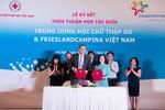 Hội chữ thập đỏ Việt Nam và FriesLand Campina Việt Nam ký kết thỏa thuận hợp tác