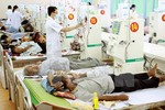 Hiện tượng quá tải tại các bệnh viện tuyến trên đã giảm đáng kể