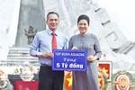Lãnh sự Đỗ Thị Kim Liên ủng hộ 5 tỷ đồng xây nhà tình nghĩa tại Hậu Giang
