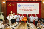 Bảo hiểm xã hội Việt Nam ủng hộ đồng bào bị lũ lụt các tỉnh Tây Bắc 1 tỷ đồng