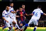 Kỹ thuật chơi bóng siêu hạng của Barca: Messi, Thiago, Sanchez