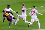 Hiệp 1 đại chiến Barca - Milan: Show diễn của Messi!