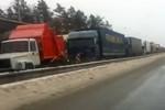 Nga: Tắc đường cao tốc kéo dài 100km